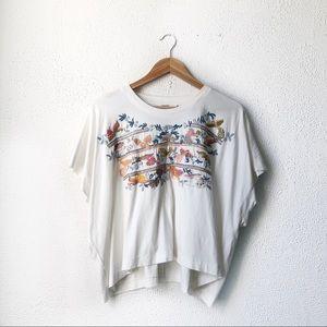 Voloshin | Frida Top Embroidered T-Shirt XS/S